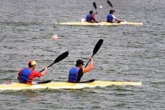 El Canoeing Fotos de archivo libres de regalías