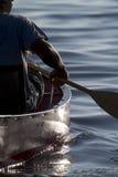 El Canoeing Fotografía de archivo