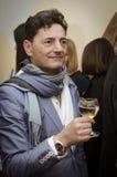 El cantante y el compositor italianos famosos Francesco Barbato Imágenes de archivo libres de regalías