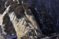 El canto de la montaña Hua Imágenes de archivo libres de regalías