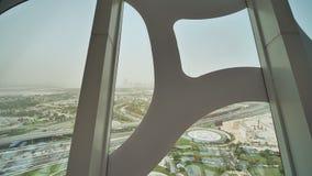 El capítulo de Dubai es uno de la última señal de Dubai almacen de metraje de vídeo