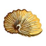 El capítulo floral con las flores amarillas arregló en una forma del wrea Fotografía de archivo