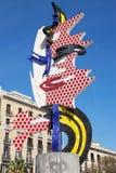 El Cap de Barcelona Stock Images
