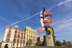 El Cap de Barcelona, Spain Royalty Free Stock Photo