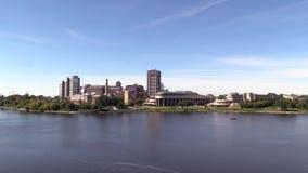 El capital de Canadá de Ottawa almacen de metraje de vídeo