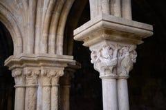 El capital de columna Imágenes de archivo libres de regalías
