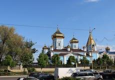 El capital de la República del Moldavia, Chisinau Imágenes de archivo libres de regalías