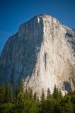 El Capitan岩石,约塞米蒂国家公园 免版税库存图片