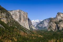 El Capitan,约塞米蒂国家公园 免版税库存照片