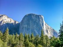 El Capitan,约塞米蒂国家公园 免版税库存图片