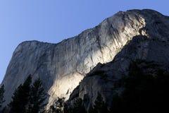 El Capitan, долина Yosemite Стоковое Изображение
