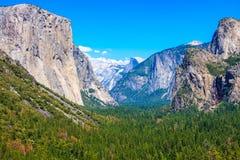 El Capitan, национальный парк Yosemite Стоковое фото RF