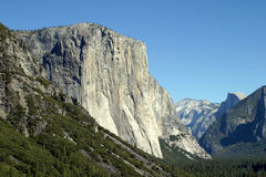 El Capitan. Is one of the magnificent mountains in Yosemite Stock Photography
