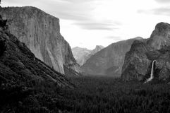 El Capitan And The Yosemite Valley Royalty Free Stock Image