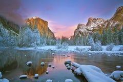 Free El Capitan At Sundown Stock Images - 7614144