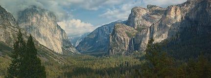 EL-capitan Berg, panoramisches szenisches La Lizenzfreie Stockfotos