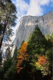 El Capitan in the Fall Stock Photo