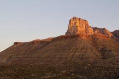 EL Capitan in Guadalupe Mountains National Park in Texas Lizenzfreie Stockfotografie