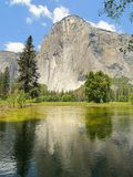 Yosemite Valley, California. Royalty Free Stock Photo