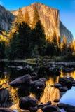 El Capitan & the Merced River Royalty Free Stock Photos