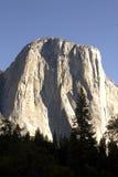 El Capitan Mountain Peak in Yosemite National Par Royalty Free Stock Photo