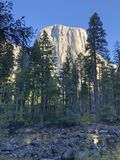 EL Capitan ottobre di Yosemite immagini stock libere da diritti