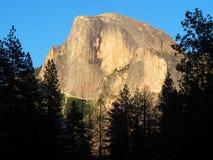 El Capitan på solnedgången royaltyfria foton