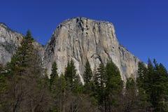 EL Capitan in parco nazionale di Yosemite in primavera Fotografie Stock