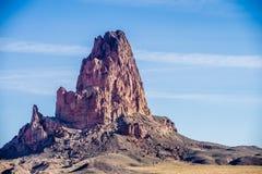 El Capitan Peak just north  Kayenta Arizona in Monument Valley Royalty Free Stock Photos