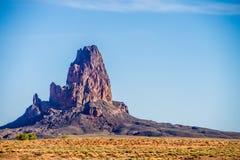 El Capitan Peak north of Kayenta Arizona in Monument Valley Royalty Free Stock Photos