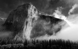 El Capitan przy świtem Zdjęcie Stock