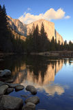 El Capitan Reflections Stock Photography