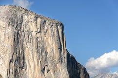 El Capitan rock in Yosemite Stock Image