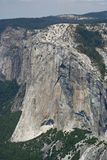 El Capitan from Sentinel Dome Stock Images