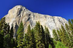 EL Capitan, stationnement national de Yosemite, la Californie Photographie stock