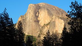 El Capitan at Sunset HDTV Format. Rising more than 3000 vertical feet from the floor of Yosemite Valley, El Capitan is sheer rock granite and a must see in stock images