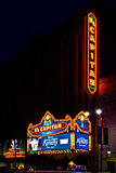 El Capitan Theater in Hollywood, California. Los Angeles, USA - March 4, 2012: The El Capitan Theatre was purchased and renovated by the Disney Company and serve Stock Photography