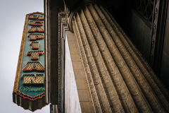 The El Capitan Theater, in Hollywood  Royalty Free Stock Photo