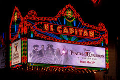 El Capitan Theater Stock Photography