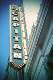 El Capitan Theatre, Hollywood zdjęcia stock