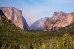EL Capitan, valle del Yosemite Fotografia Stock