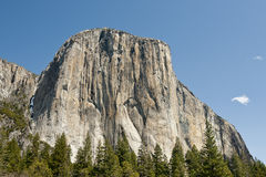 EL Capitan in Yosemite Fotografie Stock