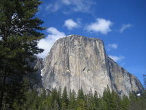 El Capitan Yosemite Royalty Free Stock Photo