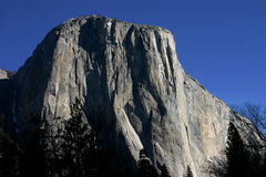 El Capitan in Yosemite Royalty Free Stock Image
