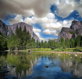 EL Capitan Yosemite Immagine Stock