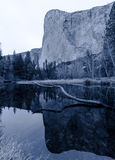 El Capitan in Yosemite Royalty Free Stock Photo