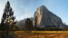 El Capitan in Yosemite California Stock Photography