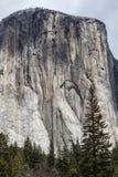 El Capitan, Yosemite dolina - Ja Zdjęcia Stock