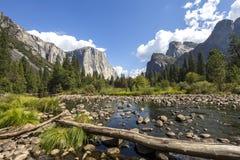 El Capitan, Yosemite national park, California, usa Royalty Free Stock Photography