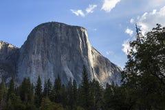 El Capitan, Yosemite national park, California, usa. World famous rock climbing wall of El Capitan, Yosemite national park, California, usa Stock Photography